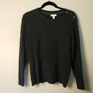 Charter club XL knit sweater